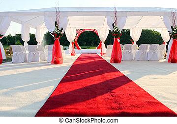 ceremonie, bezoeken