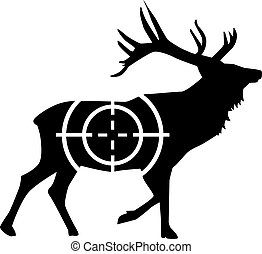 cerf, chasse