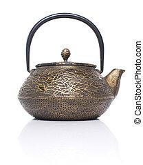 cerimônia, chá, asiático