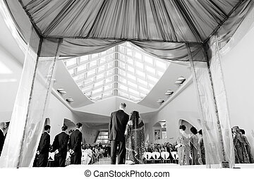 cerimônia, hindu, casório