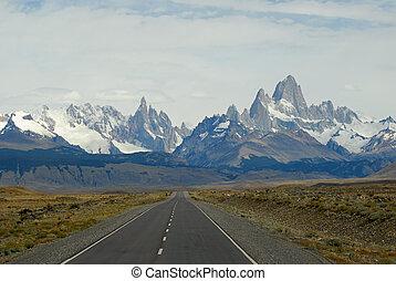 cerro, torre, fitz, mountaines, roy