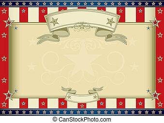 certificado, americano