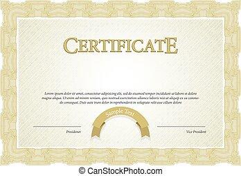 certificat., gabarit, diplômes, cabot