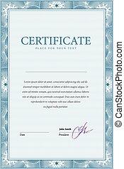 certificat., gabarit, diplômes