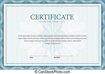 Certificate and diplomas template. Vector - Certificate....