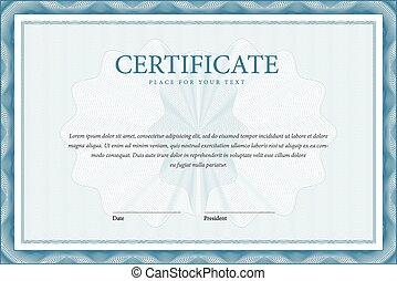 Certificate and diplomas template. Vector - Certificate....