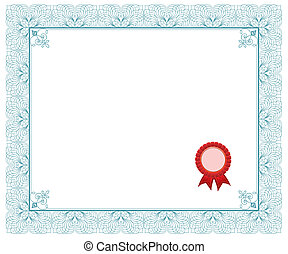 Certificate - This image is a vector illustration and can be...