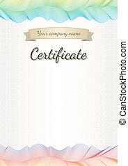 Certificate, graduate, diploma