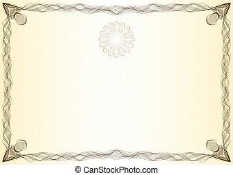 Certificate, graduate, diploma - Beautiful certificate,...