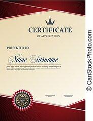 Certificate of Appreciation template.