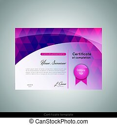 Clip art vector of elegant certificate template for excellence certificate of completion appreciation achievement graduation diploma or award with the yadclub Gallery
