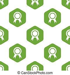Certificate seal pattern