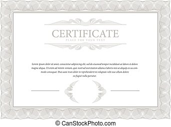 Elegant diploma certificate template forcompletion with gold certificate template diploma border yadclub Image collections