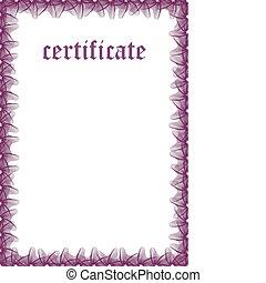Certificate Template — Fill & Print Series