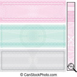 Certificate templates - Certificate template, vector without...