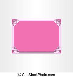 certificate vector border frame design