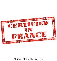 certificato, france-stamp