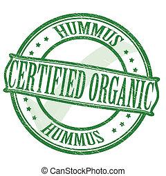 Certified hummus