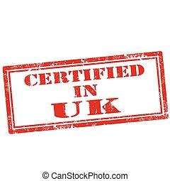 Certified In UK-stamp