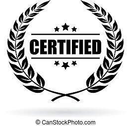 Certified product emblem