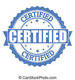 Certified stamp