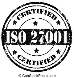 Certified-stamp - Grunge rubber stamp with text...
