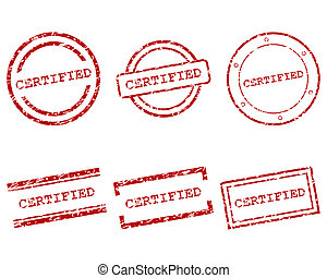 Certified stamps