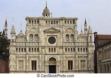 Certosa of Pavia, Italy