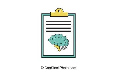 cerveau, document, humain, hd, définition