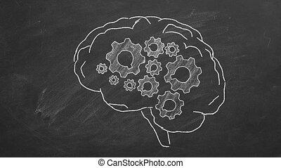 cerveau, engrenages