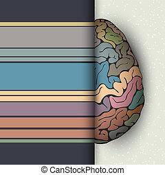 cerveau humain, concept