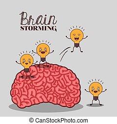 cerveau humain, conception