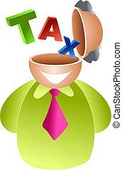 cerveau, impôt