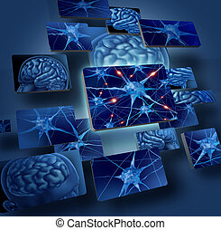 cerveau, neurons, concepts