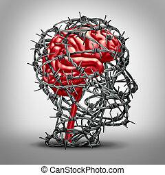 cerveau, protection