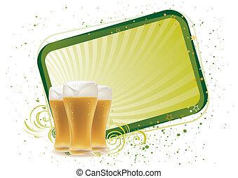 cerveja, projete elemento