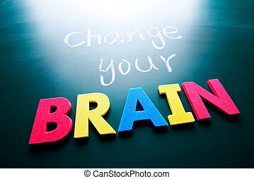 cervello, concetto, tuo, cambiamento