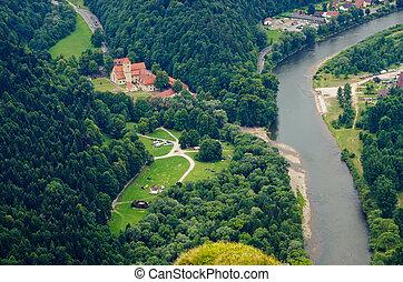 Cerveny Klastor monastery, Slovakia - Cerveny Klastor...