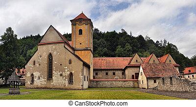 Cerveny klastor - famous architecture of Cerveny klastor...