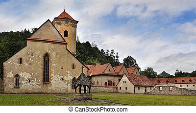 Cerveny klastor - famous Red Cloister (slovak: Cerveny...