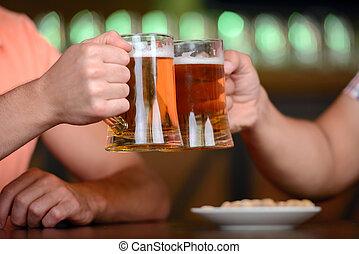 cerveza, bar