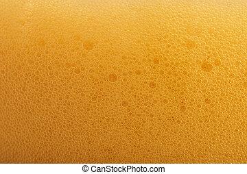 cerveza, burbujas