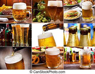 cerveza, collage
