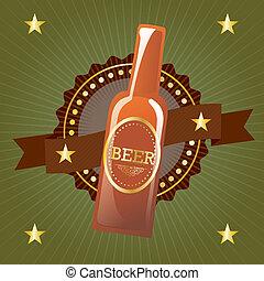cerveza, etiquetas