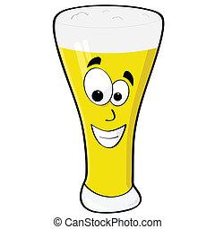 cerveza, feliz