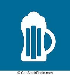 cerveza, icono