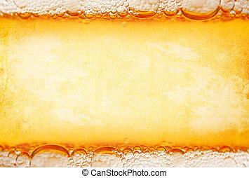 cerveza, plantilla