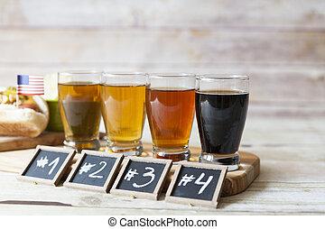 cerveza, saboreo