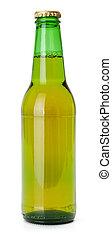 cerveza verde, botella