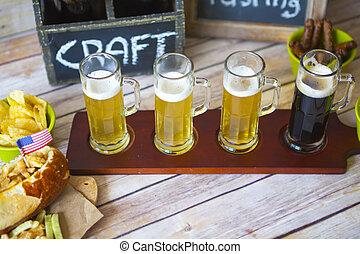 cerveza, vuelo